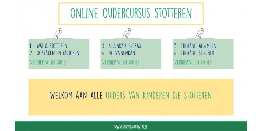 Online oudercursus stotteren - zomer 2021