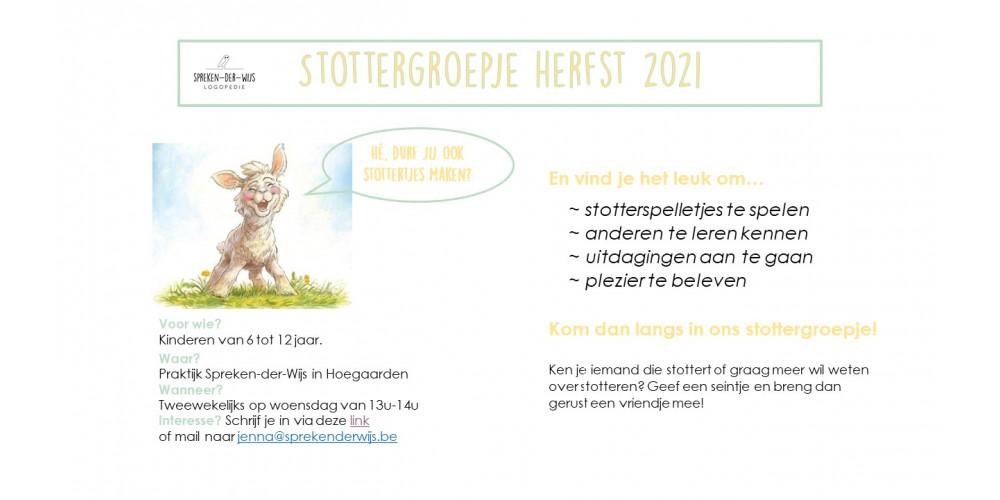 Stottergroepje - herfst 2021
